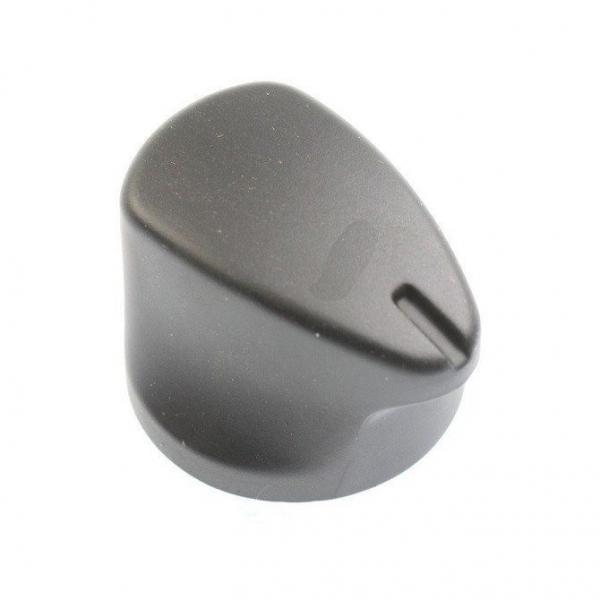 Ручка переключения таймера черная матовая для плиты INDESIT ARSTON ИНДЕЗИТ АРИСТОН